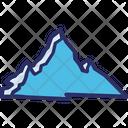 Mount Everest Border Of Tibet Border Of Nepal Icon