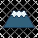 Mount Fuji Landmark Icon