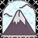 Mount Fuji Highest Volcano Japanese Mountain Icon