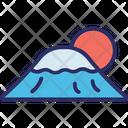 Mount Fuji Japan Landscape Icon