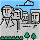 Mount Rushmore Landscape Memorial Icon