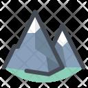 Mountain Climber Trekking Icon