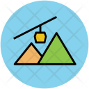 Mountain Range Hill Icon