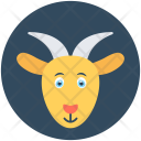 Mountain Goat Antelope Icon