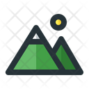 Mountain Landscape Nature Icon