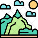 Mountain Adventure Nature Icon