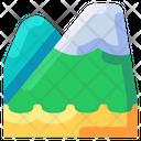 Mountain Travel Vacation Icon