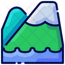 Mountain Travel Vacation Icon