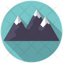 Mountain Camping Place Place Icon