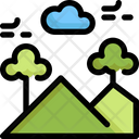 Mountain Ecology Save Icon