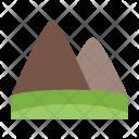 Earth Element Mountain Icon