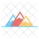 Mountain Adventure Hill Icon