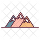 Mountain Adventure Hill Icon