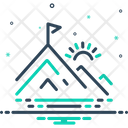 Peak Pinnacle Vertex Icon