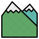 Mountain Peak Terrain Icon