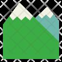 Mountain Peak Terrain Icon