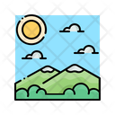 Travel Mountain Nature Icon