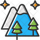 Mountain Hill Adventure Icon