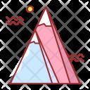 Mountain Scenery Landscape Icon