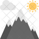 Mountains Hill Station Icon