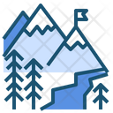 Ice Icecold Mountain Icon