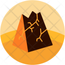 Cracked Mountain Rock Icon