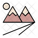 Mountain Mountains Adventure Icon