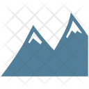 Mountain Climbing Landscape Icon