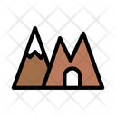 Mountain Ice Snow Icon