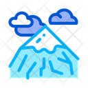 Head Mountain Landscape Icon
