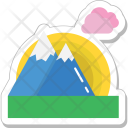 Landscape Mountain Hills Icon