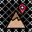 Location Map Hills Icon