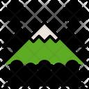 Mountain Landscape Rock Icon