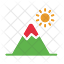 Camp Camping Mountain Icon
