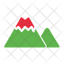 Camp Camping Hill Icon