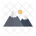 Mountain Hills Moon Icon