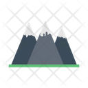 Mountain Hills Climbing Icon