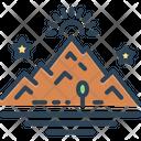 Mountain Peak Hill Icon