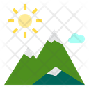 Nature Outdoor Mountain Icon