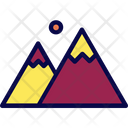 Mountain Extreme Nature Icon