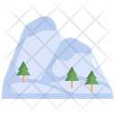 Mountain Tree Nature Icon