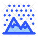 Cold Mountain Snow Icon
