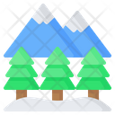 Mountain Tree Pine Icon