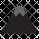Mountain Hill Mountains Icon