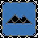 Mountain Hills Sign Icon