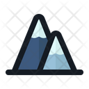 Mountain Winter Nature Icon