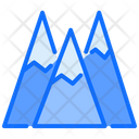 Mountain Landscape Travel Icon