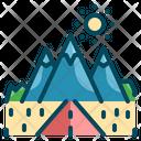 Mountain Travel Road Icon