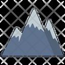 Mountain Landscape Scenery Icon
