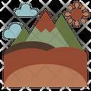 Mountain Landscape Nature Icon